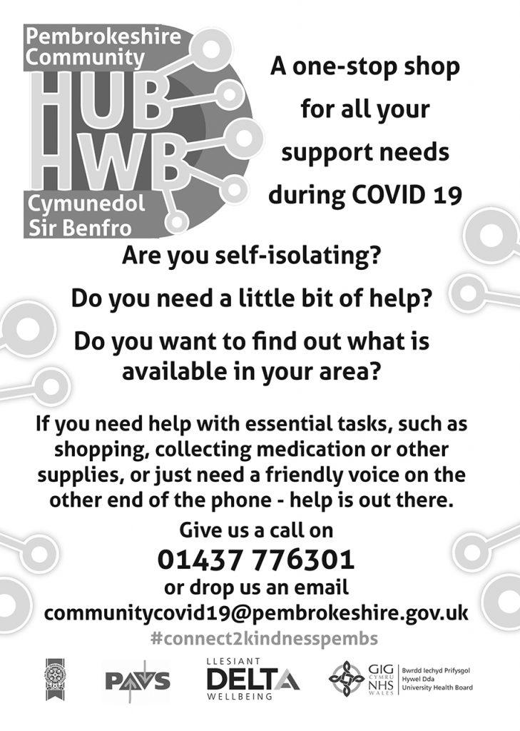 Community Hub Poster ( Greyscale)