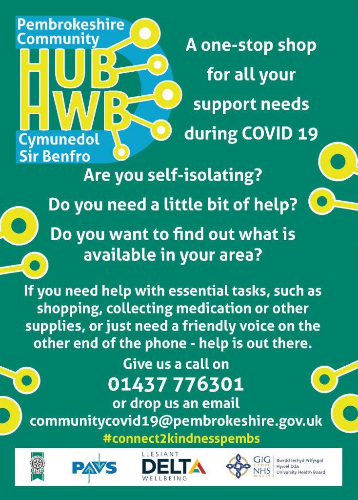 Community Hub Poster (Colour)